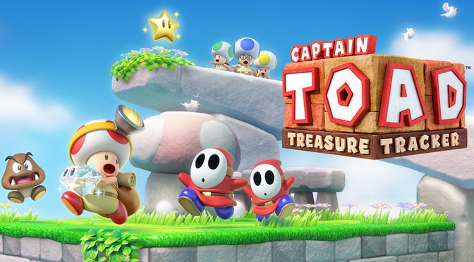 Treasure Tracking With Captain Toad