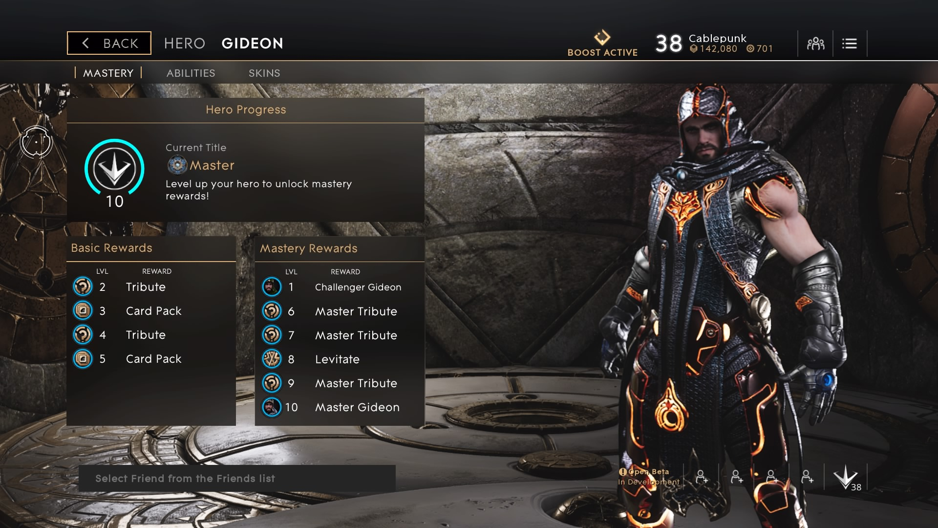 Master Gideon